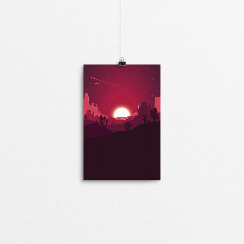 Tartan Plateaus // 4x6 Print image 0