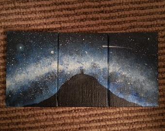 3in X 2in Original MINI painting x3