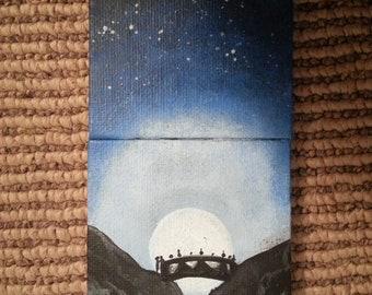 2.5in X 2.5in Original MINI painting