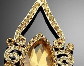Gold Plated Drop Dangling Earrings