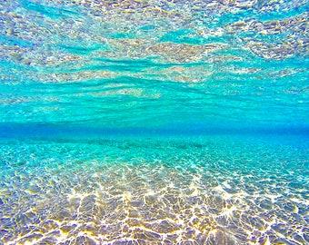 Polihale Serenity - Beach Photography, Beach Metal Wall Art, Beach Metal Art, Ocean Wall Decor, Beach Artwork, Beach Wall Decor, Beach Decor