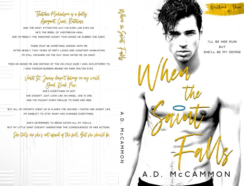 When the Saint Falls  Signed Paperback Available 1/16/2020 image 0