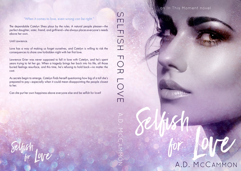 Selfish for Love Signed Paperback image 0