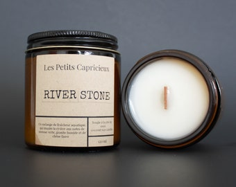 RIVER STONE | Luxury candle with coconut wax