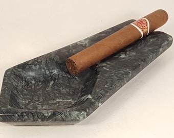Contemporary Colored Series Stone Cigar Ash Tray
