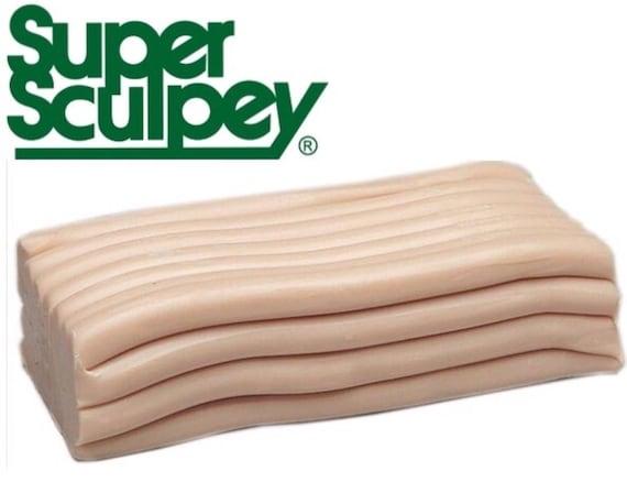 454gr OOAK Sculpting Polymer Oven Bake Clay Super Sculpey MEDIUM Blend 1 Pound