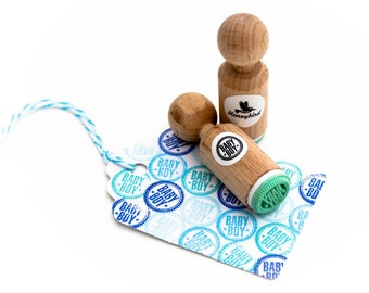 Mini Baby-Boy stamp