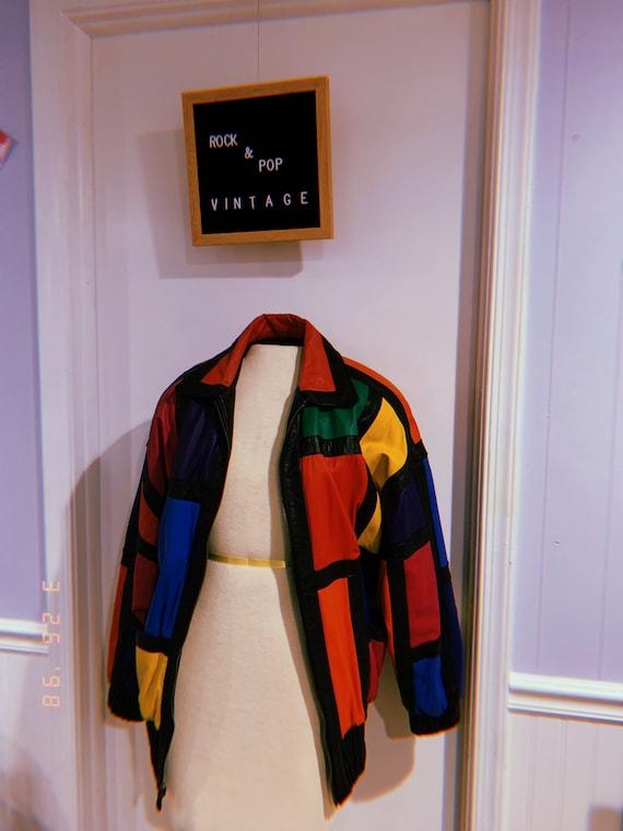 Avanti 60s vintage jacket with shoulder shoulders