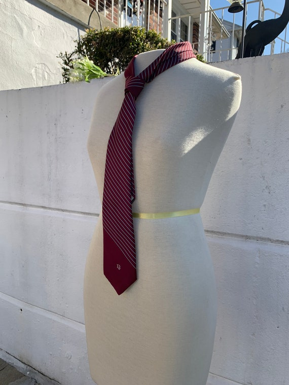 Vintage Authentic Christian Dior Necktie