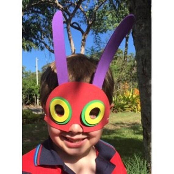 Hungry Caterpillar mousse masque Kit - kits de bricolage enfant - activités pour enfants