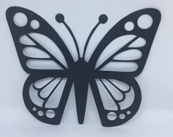 Black Butterfly cut outs.
