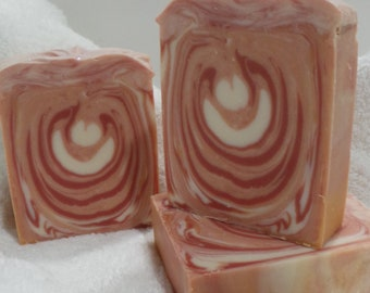 Artisan Cold Processed Sparkling Champagne Soap