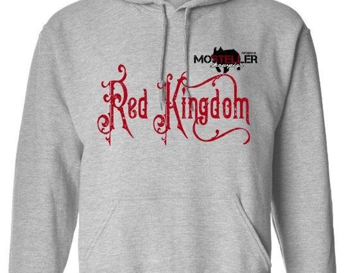 Red Kingdom Hoodie, Mosteller Show Pigs, Red Kingdom Duroc, Red Kingdom Duroc Boar