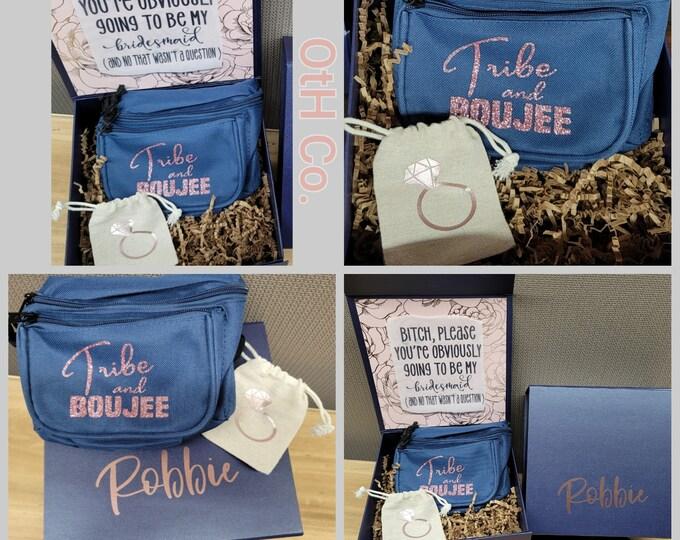 Bridesmaid Proposal Box-Will You Be My Bridesmaid-Custom Gift Boxes-Box-Wedding Party Gifts -Bridal gift idea-Bridesmaid proposal kits