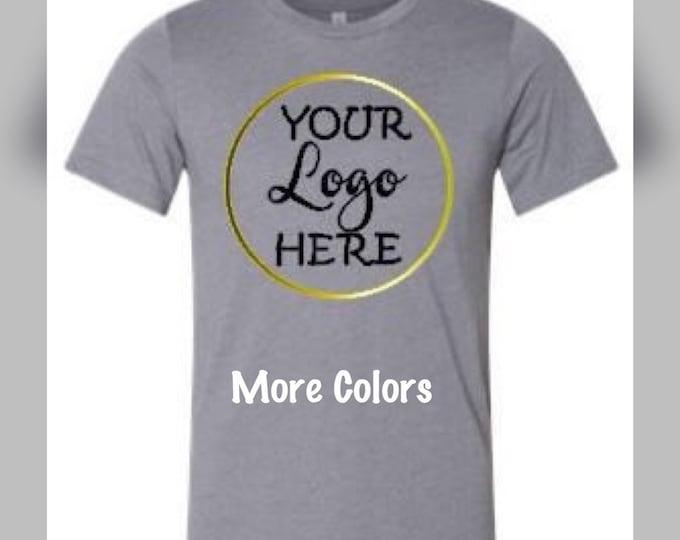 Custom shirt/custom logo shirt/logo shirt/custom logo/logo tee/logo t/custom logo tee/tshirt/tee/custom design/unisex/design your own tshirt