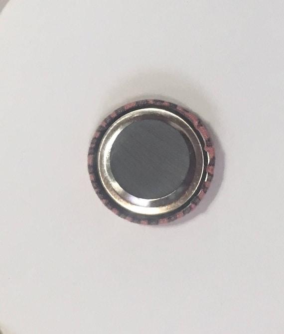 Needleminder / Needle finder/ Fabric covered magnet set of 4