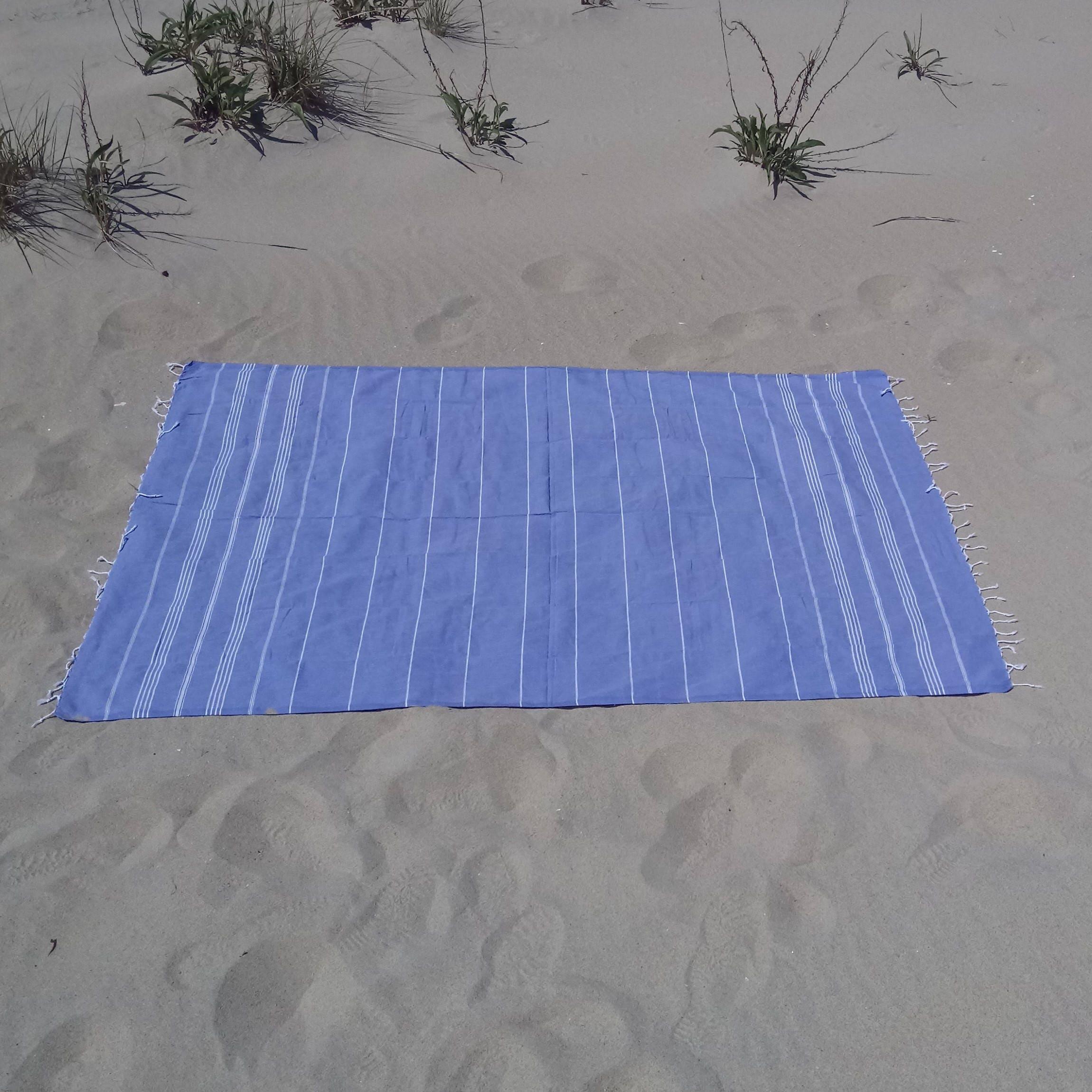 Travel Towel Japan: Maraa XL TURKISH TOWEL 100% Cotton Pestemal Travel Towel