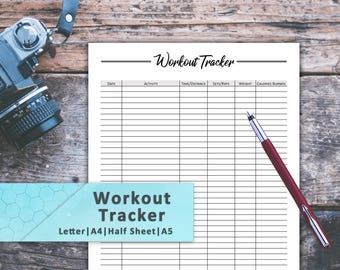 Tracking template   Etsy