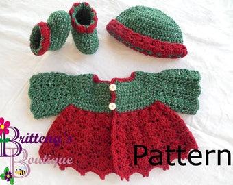 357c73e78 Baby Boy Crochet Pattern Cardigan Sweater Crochet Pattern Baby