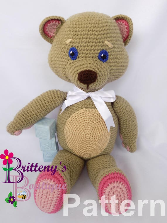 Happy Bears Amigurumi - Free Crochet Patterns - StringyDingDing | 760x570