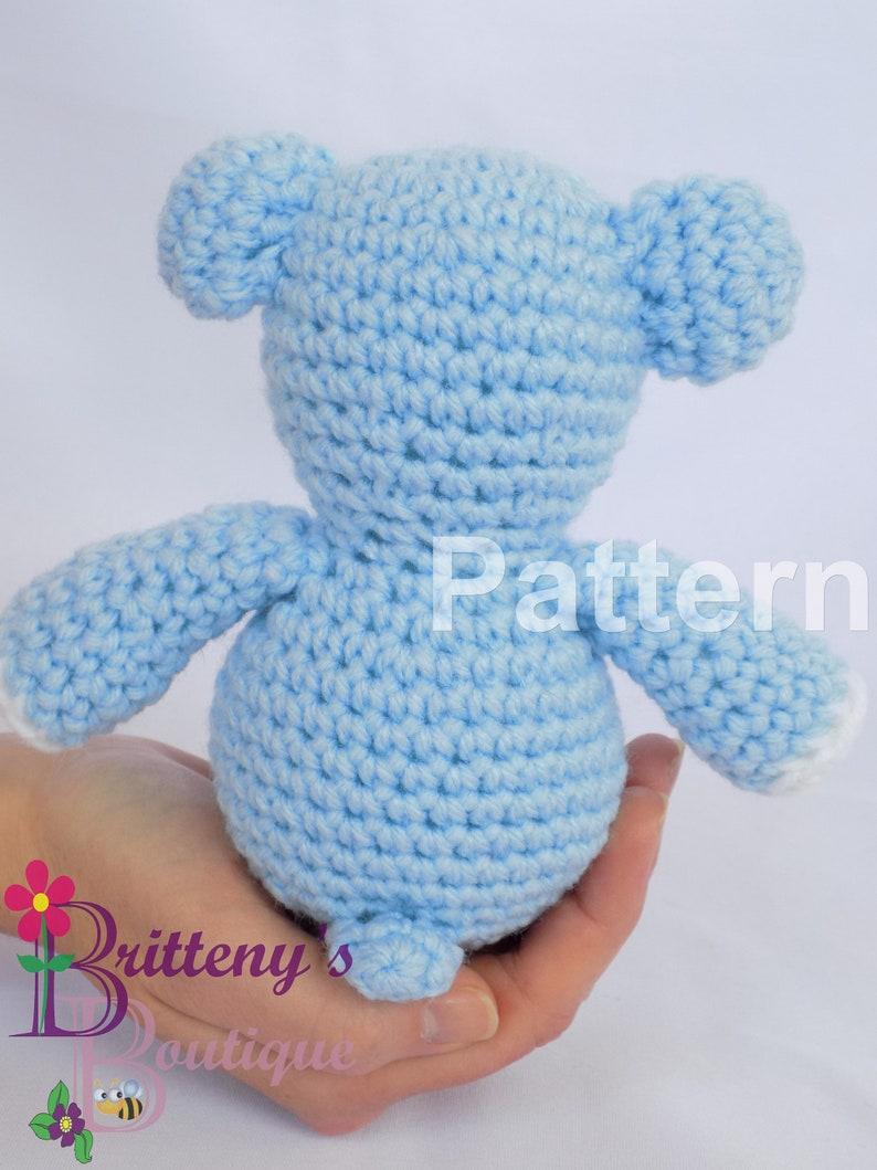 Teddy Bear Stuffed Animal Crochet Pattern Bear Amigurumi Crochet Pattern