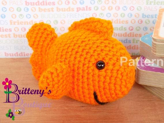 Goldfish Amigurumi Free Crochet Pattern | 428x570
