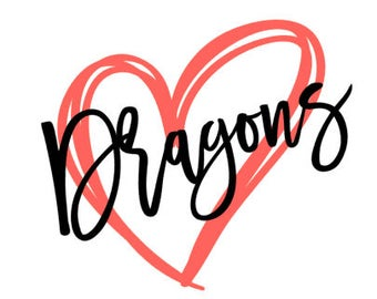 Dragons Heart SVG