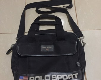 68ca60c1e341 Vintage POLO SPORTS by Ralph Lauren crossbody bag