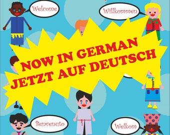 """JW Kongress Arbeitsbuch """"Gib Nicht Auf!"""" Kinder 3+ (sofort Download)"""