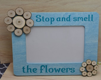 4x6 Handcrafted Essential oil wood  Diffuser Picture Frame