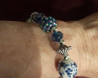 PRICE REDUCED! Multi-textured Beaded Bracelet