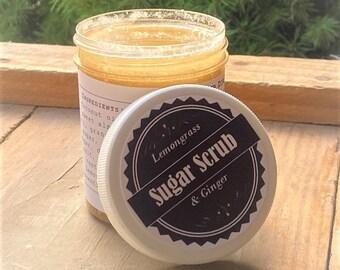 Natural Body Scrub, Sugar Scrub, Body Polish, Exfoliating Scrub: Acne Soap, Eczema Soap