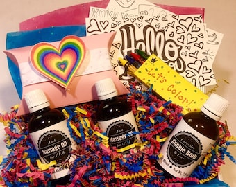 Self Care Package, Rainbow, Pride: A Gift You Can Send to Anyone, Anywhere, Anytime!