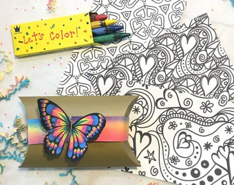 Adult Coloring Kit, Self Care Package *Limited Quantity* A Gift You Can Send to Anyone, Anywhere, Anytime!