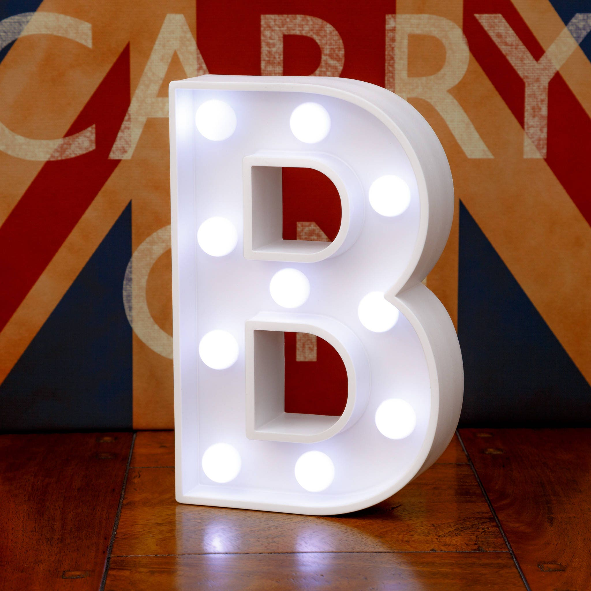 marquee light up letters light up letters b marquee letters led bedside lamp white 23581 | il fullxfull.1327789150 og2b