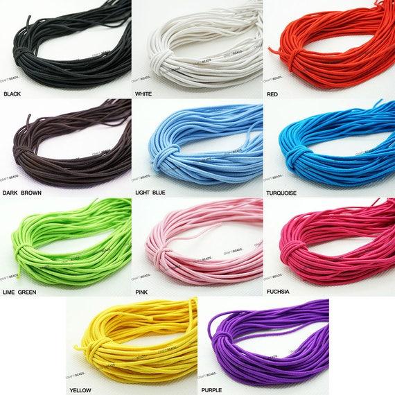 1MM Nylon Coated Round Elastic Cord Stretch Stretchable  53951504a8e1