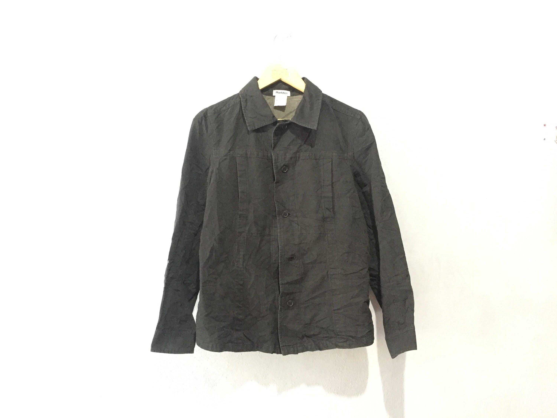 Bouton de Plantation Denim Vintage veste veste veste taille M 6704ba ... 5cc102aacfb