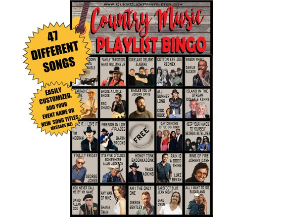 Download this month's country music playlist from people magazine.
