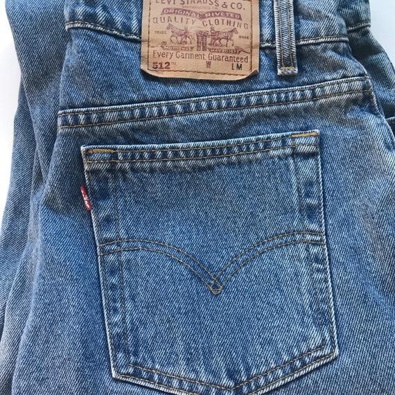 Vintage Levi's 512 Slim Fit Straight Leg Mom Jeans - image 2