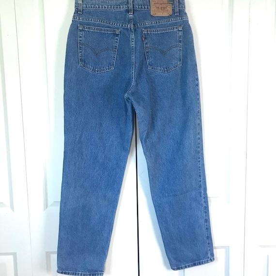 Vintage Levi's 512 Slim Fit Straight Leg Mom Jeans - image 4