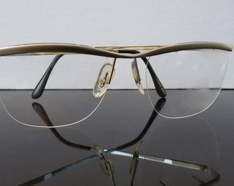 940d914a28c0 Oleg Cassini eyeglasses / rimless frame / gold / designer eyeglasses /  women eyewear / vintage 1980s eyewear / made in Japan / NOS /
