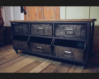 Sideboard Industrial Look ~ European loft industrial style sideboard retro to do the old metal