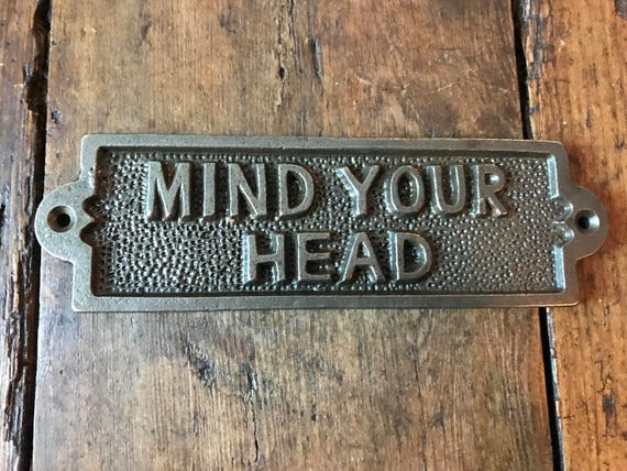 Cast Iron GIN TIME Sign//Plaque//Vintage//Rustic//Drink//Industrial//Vintage Style