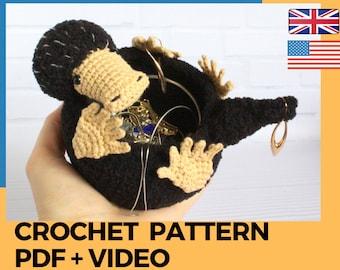 Niffler pattern by Sophs craft   Harry potter häkeln, Kaktus ...   270x340