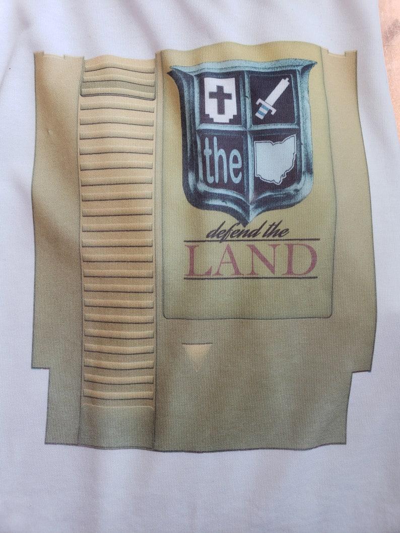 Defend the Land Legend of Zelda Gold cartridge image 0