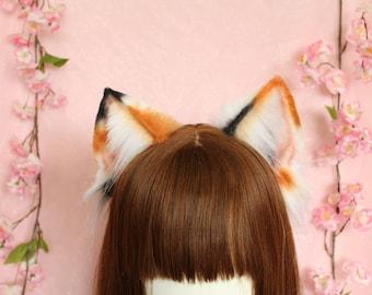 4ce4d1c6956fff Calico cat ears headband