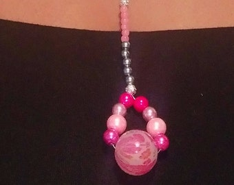 Pink Champagne Necklace