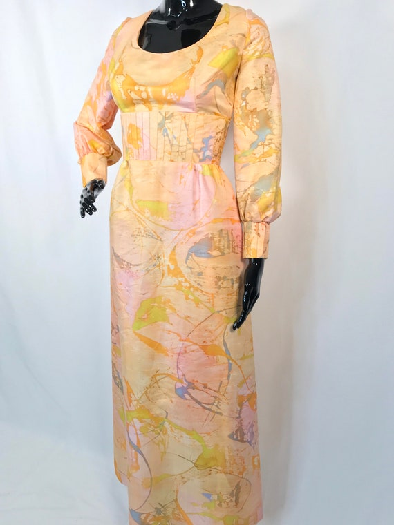 Japanese Kimono Dress w/ Bishop Sleeves