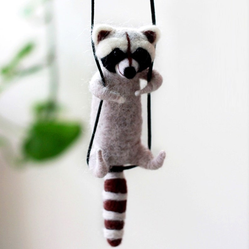 "Lazy Cat Needle Felting Kits Lying in Hand 3.2/"" for Beginner Easy Adorable"