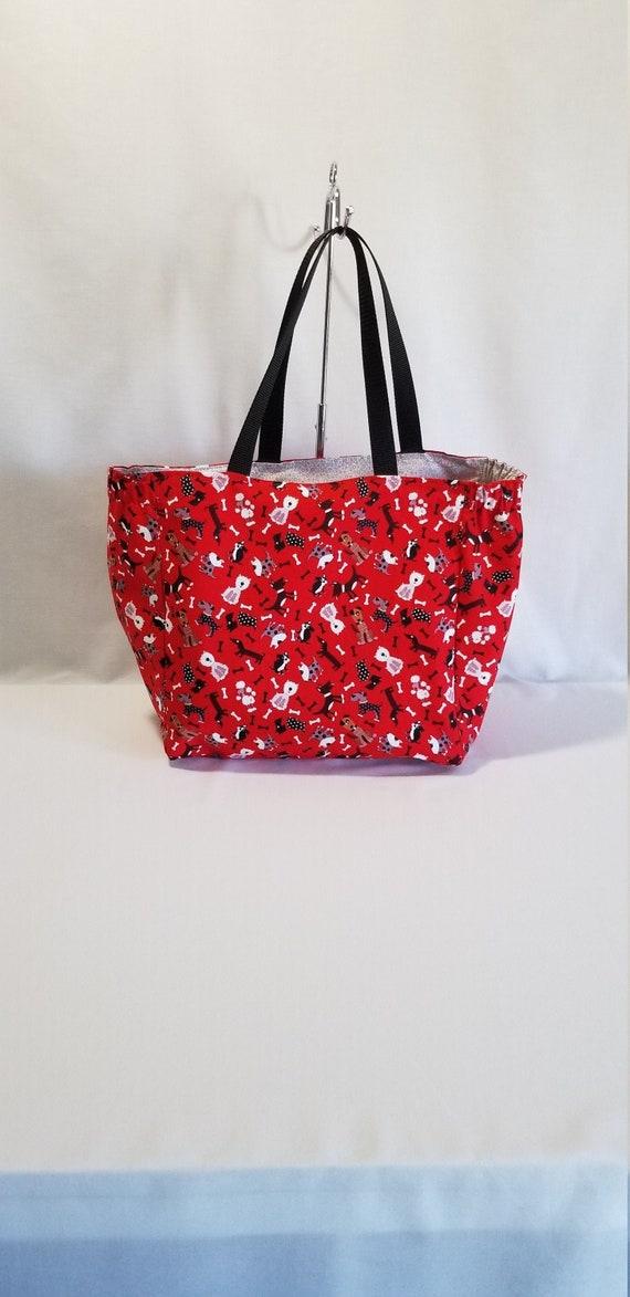 Animal lover gift Gift for her Grocery Bag Grocery Bag Dog lover Gift Dog lover tote Reusable Tote Bag